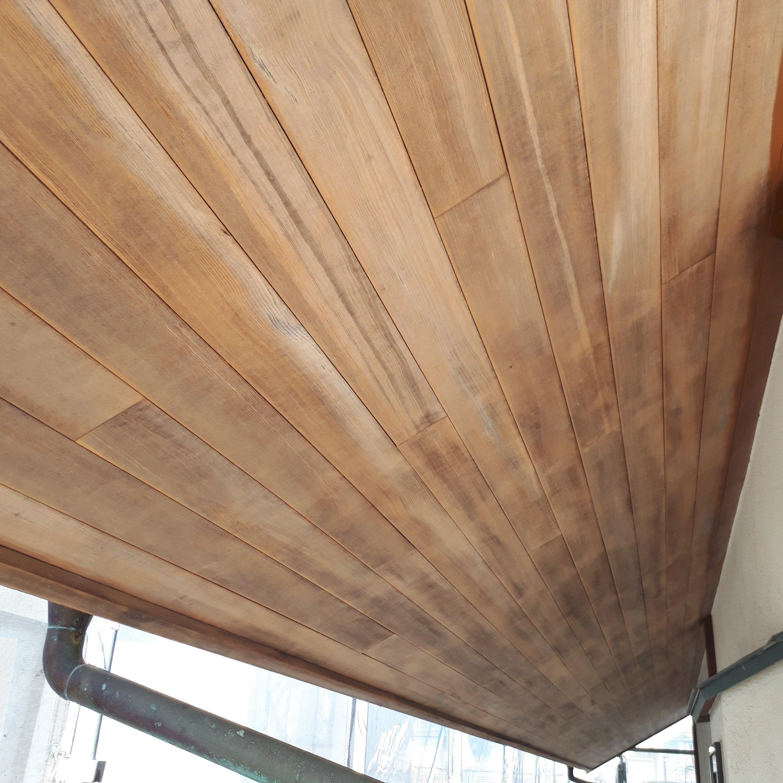 外壁塗装 木部塗装工事