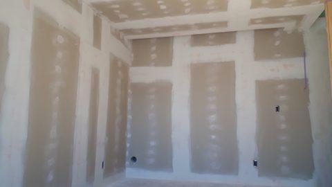 新宿区注文住宅新築工事、内装塗装工事