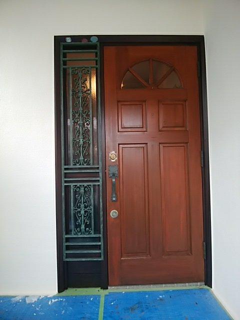 金沢区 住宅 外壁塗装 玄関ドア
