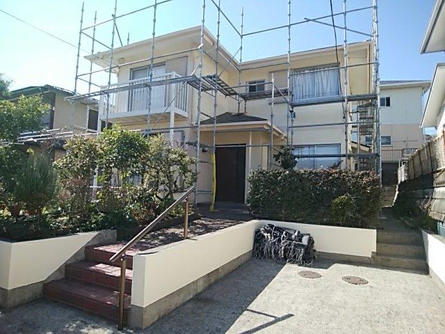 外壁塗装.屋根塗装 金沢区住宅塗装