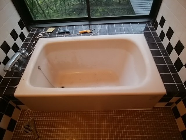 浴槽リフォーム バスタブ塗装