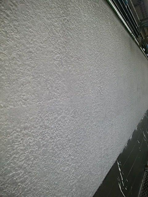外壁塗装工事、膨れ除去