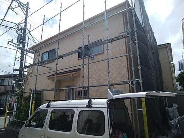 外壁塗装工事 サイディング